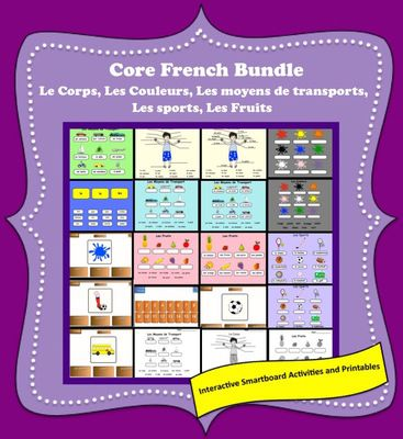 Le+Corps,+Les+Sports,+Les+Fruits......Smartboard+Activities+from+Teaching+The+Smart+Way+on+TeachersNotebook.com+-++(23+pages)++-+Le+Corps,+Les+Sports,+Les+Fruits,+Les+Moyens+de+Transport,+Les+Couleurs,+Smartboard+Activities+and+Printables