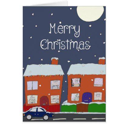 Merry Christmas Card - Xmascards ChristmasEve Christmas Eve Christmas merry xmas family holy kids gifts holidays Santa cards