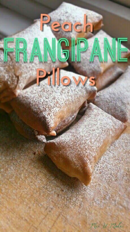 Mrs U Makes...: Peach Frangipane Pillows @MrsUMakes
