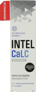 IntelCaLC, Whitening, pasta do zębów, 2,5% inteligentne wapno, 75 ml, nr kat. 243910 - Internetowa drogeria Rossmann - Zakupy online