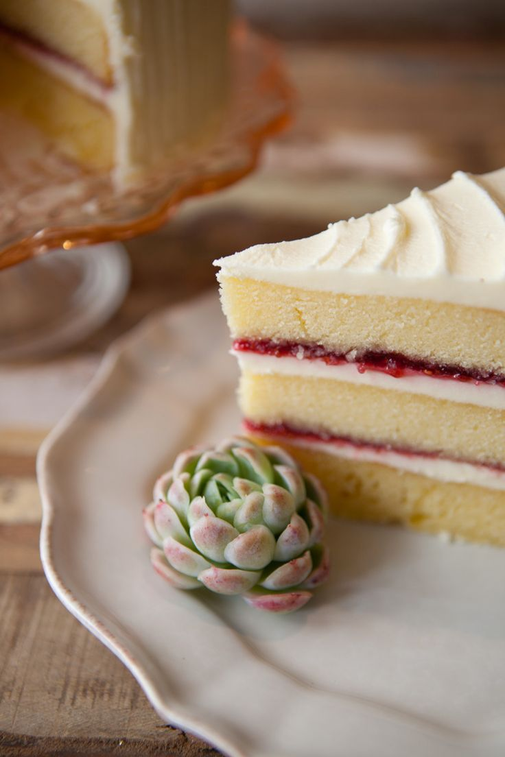 Vanilla and Raspberry Jam Layer Cake | Made From Scratch