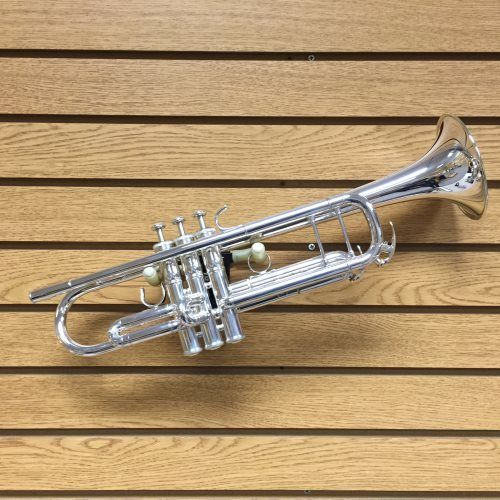 Xeno Trumpet Silver | This Xeno series trumpet is versatile and superbly crafted. $2,567.99 at WardBrodt.com. #brassinstruments #brassinstrumentsforsale