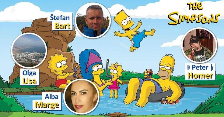 Ako by vyzerala tvoja rodina Simpsonovcov?