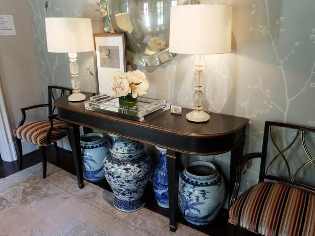 Mediterranean Living-rooms from Traci Rhoads on HGTV