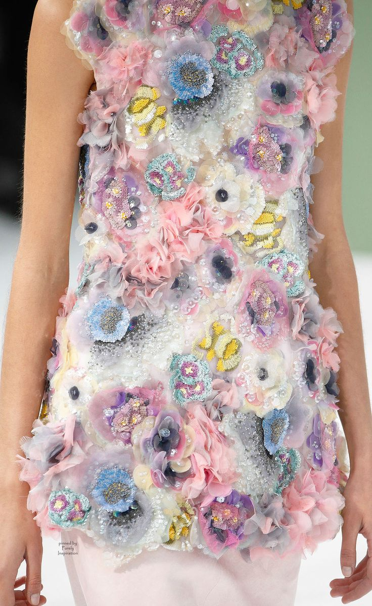 Chanel Spring 2015 Haute Couture | Purely Inspiration