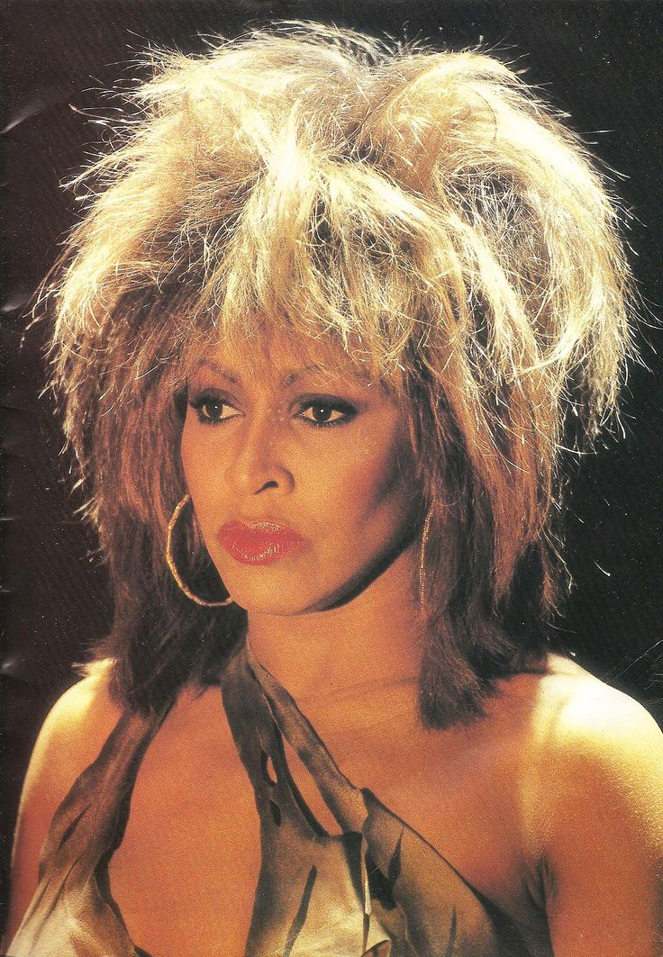I wanted to BE Tina Turner when I was young...