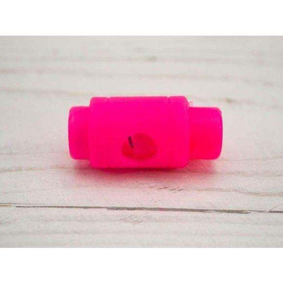 Kordelstopper 5mm neon pink