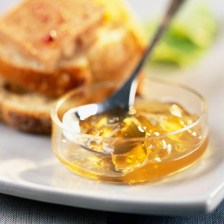 Découvrez la recette Gelée de vin de Sauternes sur cuisineactuelle.fr.