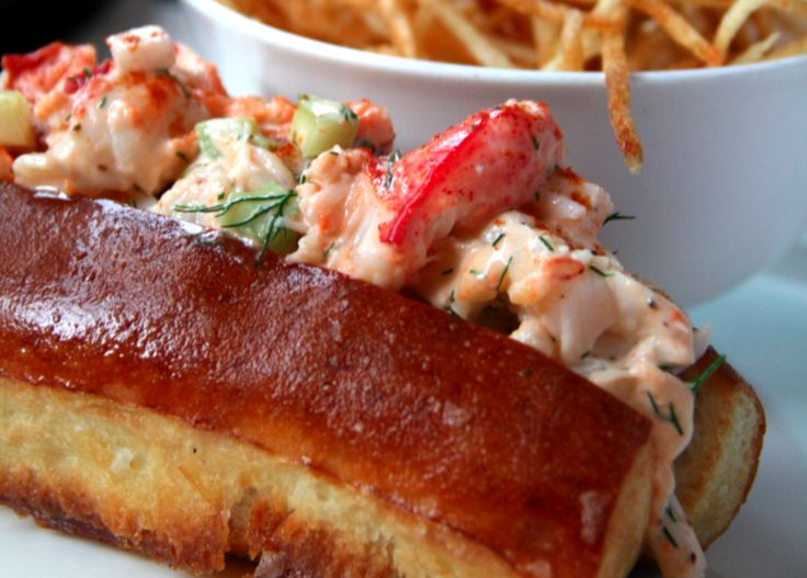 See how this #lobster roll recipe from NYC's John Dory Oyster Bar makes use of that green roe found in the tail. #FoodRepublic