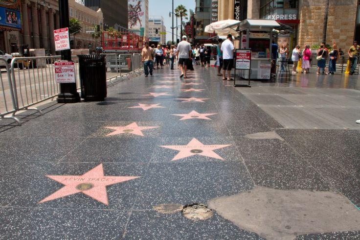Las 10 #calles más famosas del mundo |Paseo de la Fama de #Hollywood, #LosAngeles.