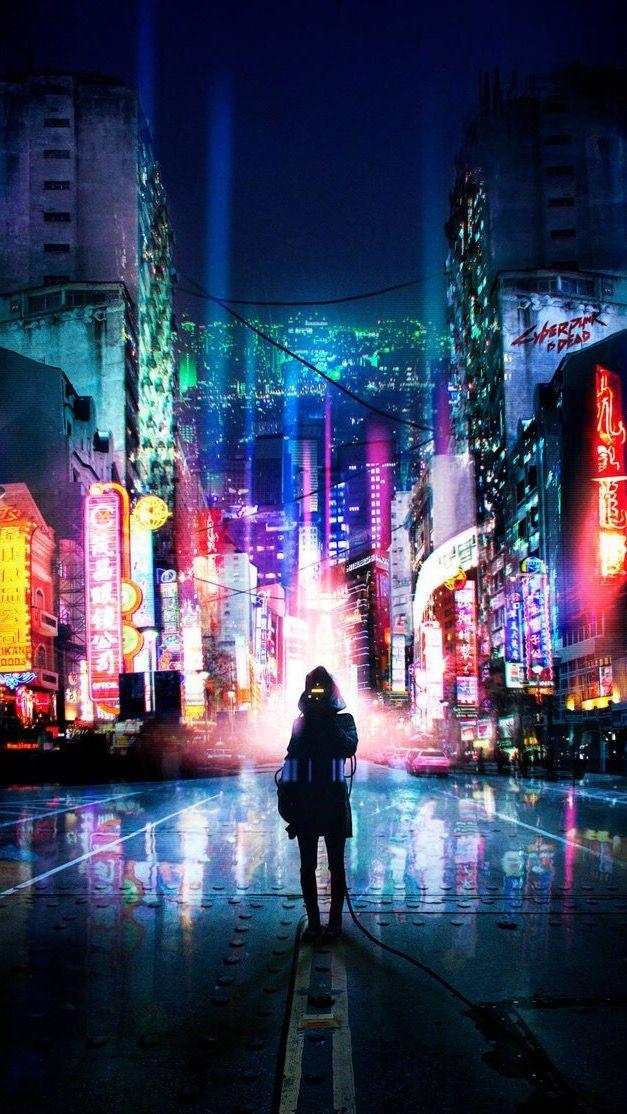 Cyber punk  (̿▀̿ ̿Ĺ̯̿̿▀̿ ̿)̄