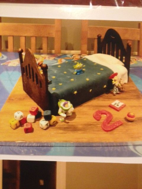 Toy story cake 1