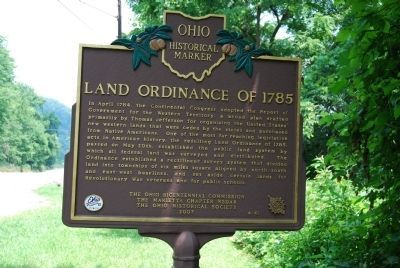 Land Ordinance of 1785 Marker Photo, Click for full size