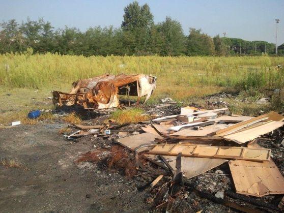 Abbattute 12 baracche, tra gli identificati tre romeni con numerosi precedenti penali