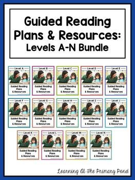 Guided reading lessons and books for levels A-N, comprehension and writing resources, phonological awareness activities, phonics games, decoding strategy visuals, lesson plan templates, assessment resources, and more! $