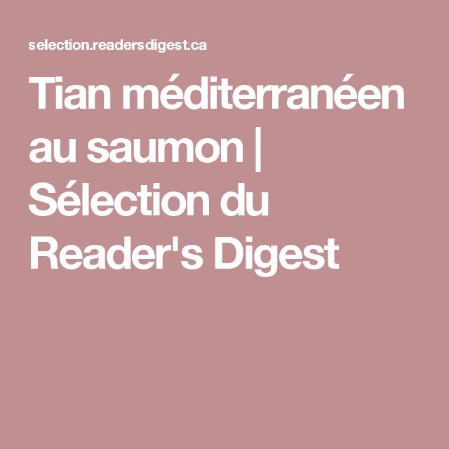 Tian méditerranéen au saumon | Sélection du Reader's Digest