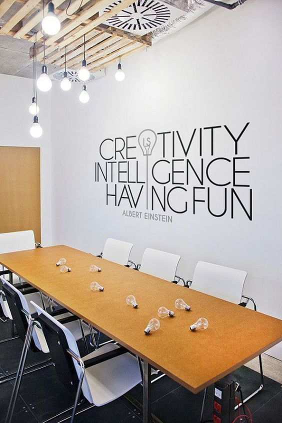 Office Wallpaper Art. Work Space. Office Space. Positive Quotes. Work. Meet