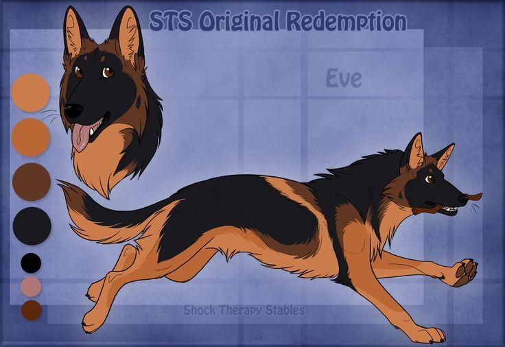 STS Dog - Eve RETIRED by ShockTherapyStables.deviantart.com on @deviantART