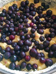 Seg blåbärskaka som du snabbt rör ihop i en kastrull – Kryddburken