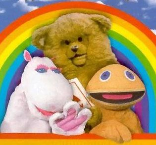 Rainbow. Comforting afternoon kiddies tv.