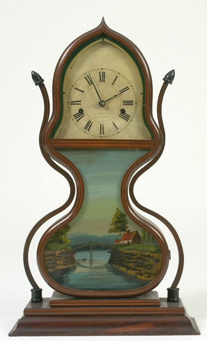Fabulous clock... Learn about your collectibles, antiques, valuables, and vintage items from licensed appraisers, auctioneers, and experts at BlueVault. Visit:  http://www.bluevaultsecure.com/roadshow-events.php