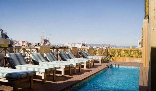 VISITE DÉCO : COTTON HOUSE #design #hotel #piscine #barcelone