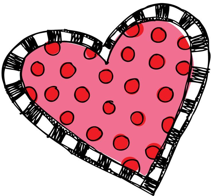 Image Result For Melonheadz Heart Black And White Love Heart Drawing Clip Art Heart Drawing