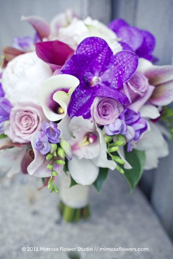 1000+ images about Wedding Flowers on Pinterest | Purple ...