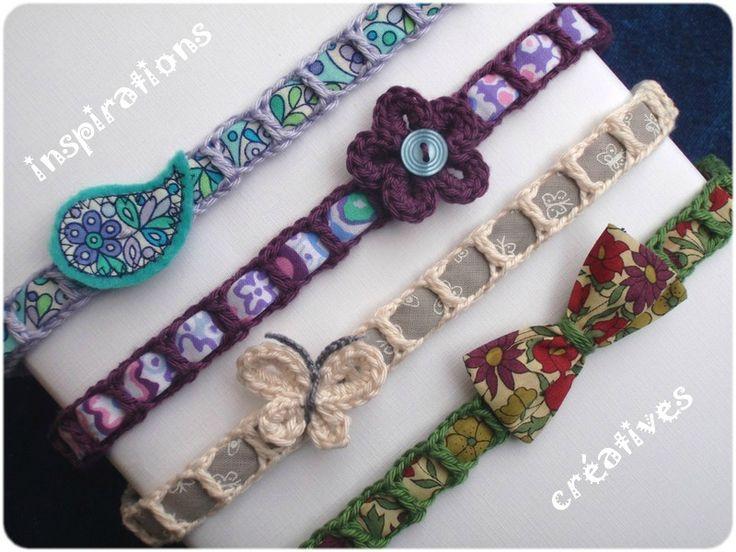 Headband Crochet Liberty (free pattern)