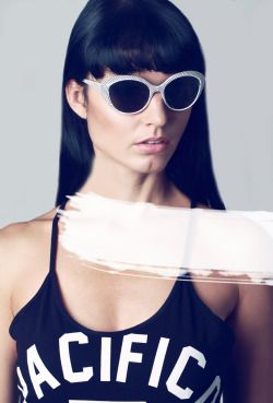 'Hi! I'm you.' http://lovememento.tumblr.com Styling & Shot by Love Memento Model: Aneta @ BAME Models
