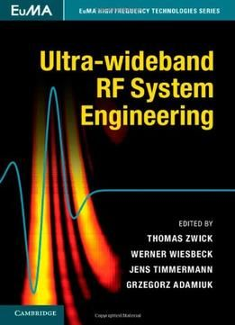 Ultra-Wideband Rf System Engineering PDF