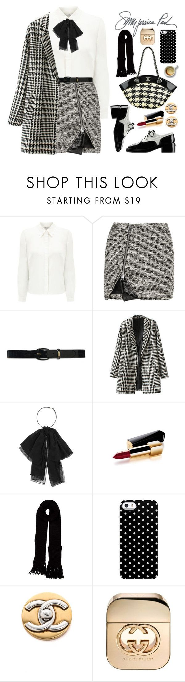 """21.10.16"" by malenafashion27 ❤ liked on Polyvore featuring Eastex, Bouchra Jarrar, Lauren Ralph Lauren, Yves Saint Laurent, Chanel, Louis Vuitton, Uncommon and Gucci"