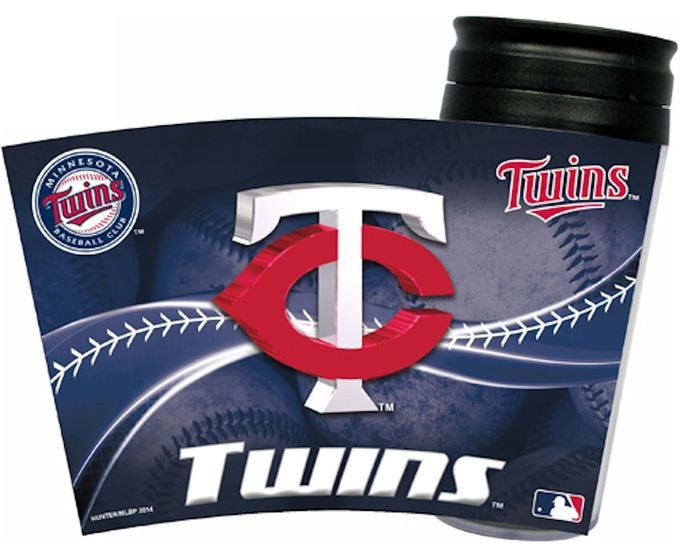 Minnesota Twins Insulated Travel Mug