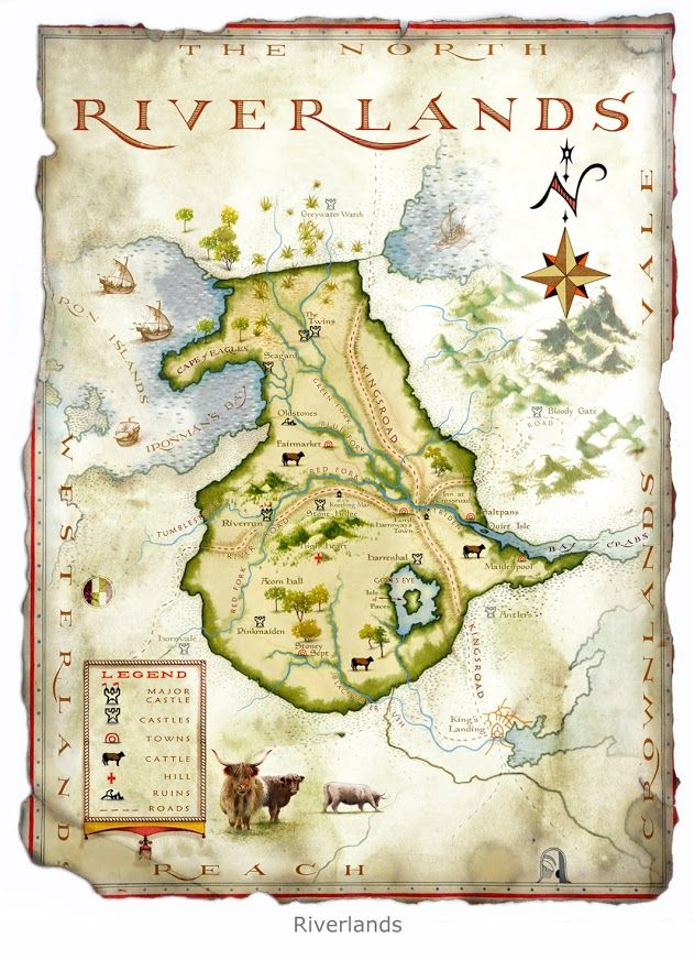 11 best mape images on pinterest fantasy map ice and maps the world of ice and fire the riverlands map by michael gellatly gumiabroncs Images