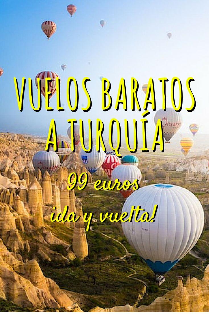 #Vuelos #baratos a #Turquía por 99€ ida y vuelta!  http://misviajeslowcost.com/vuelos/vuelos-baratos-a-turquia/ Turquía nos encanta, es un país exótico sin estar en la otra punta del mundo donde podrás visitar lugares históricos impresionantes como Hagia Sofia, la gran Mezquita Azul en #Estambul, Pamukkale, Capadocia, Antalia... Aprovecha esta #oferta para #viajar a este fascinante país por menos de 100€ i/v! http://misviajeslowcost.com/vuelos/vuelos-baratos-a-turquia/ #viajes #viajar…
