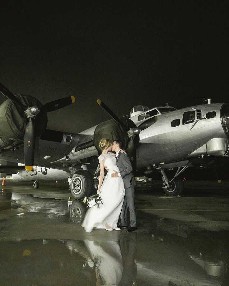 Aviation wedding