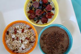 Sweetly Raw: Ways With Chia puddings