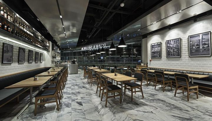 Dean & Deluca store / restaurant by KONTRA Architecture, Istanbul » Retail Design Blog