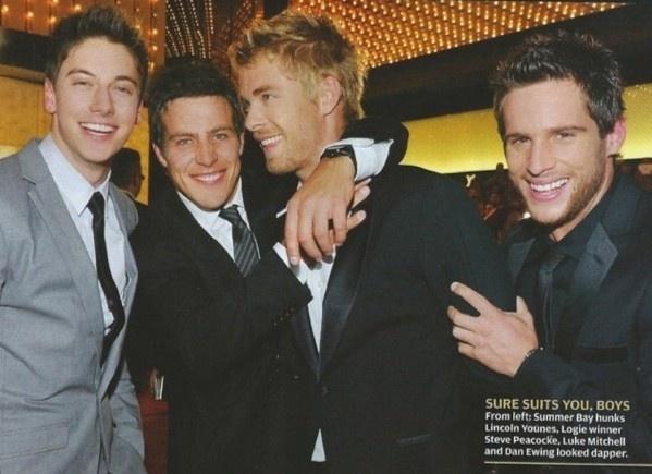 Casey, Brax, Romeo and Heath