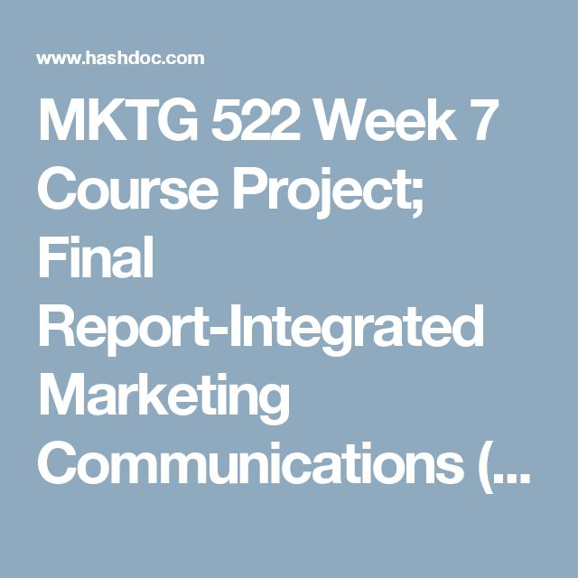 Course project week 7