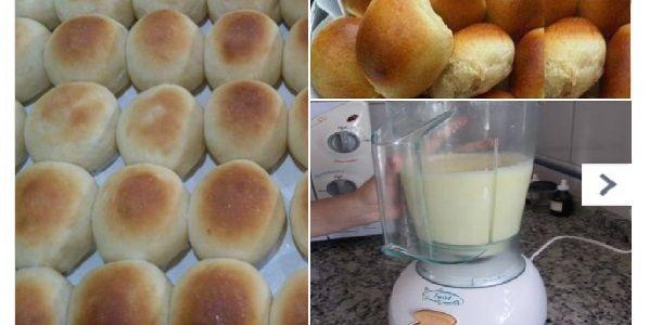 Después de que aprendí a hacer este PAN de licuadora, nunca más volvía a la panadería. Es simplemente DIVINO, rápido, práctico y muy fácil. ¡La familia entera le gusta mucho! | Receitas Soberanas