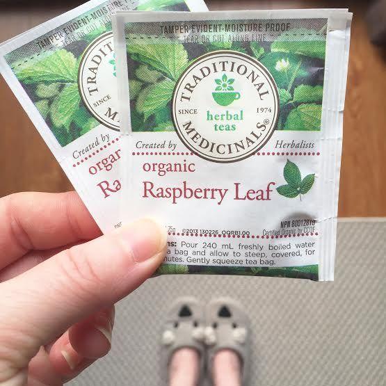 Iced Red Raspberry Leaf Tea | Health Benefits