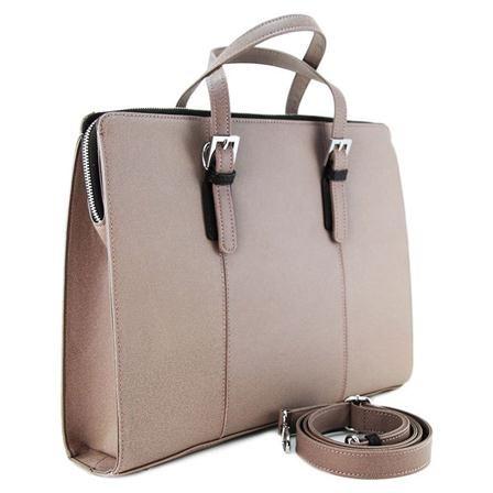 L. Credi Handbag, Taupe
