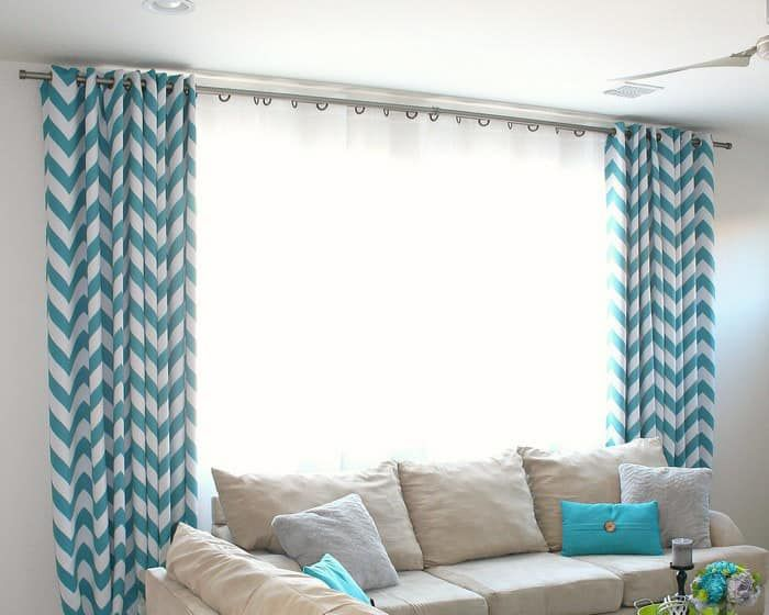 How To Make Extra Long Diy Curtain Rods With Electrical Conduit