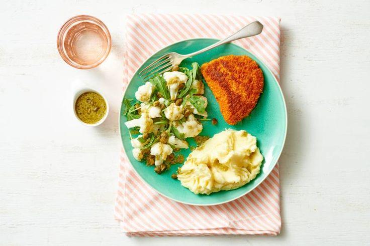 18 juli - Cordon bleu + bloemkool + kruimige aardappelen in de bonus bij Albert Heijn = lekker #bonuskoken - Recept - Allerhande