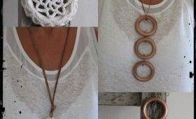 #1021 Gör ett halsband av gardinringar!