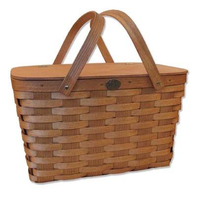Peterboro Basket Company Traditional Picnic Basket - 200MOD