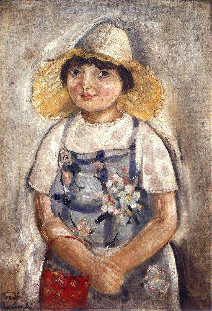 Tadeusz Makowski (Polish 1882 – 1932) | Little Gioconda