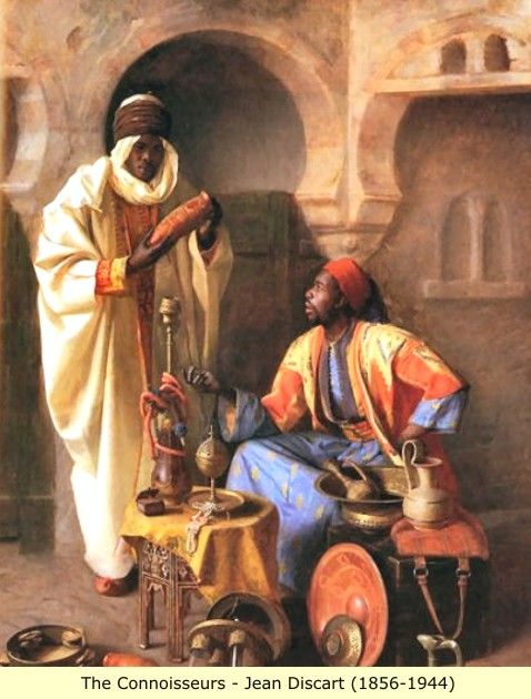 Arab and Berber (Moor) Paintings: Other (2)