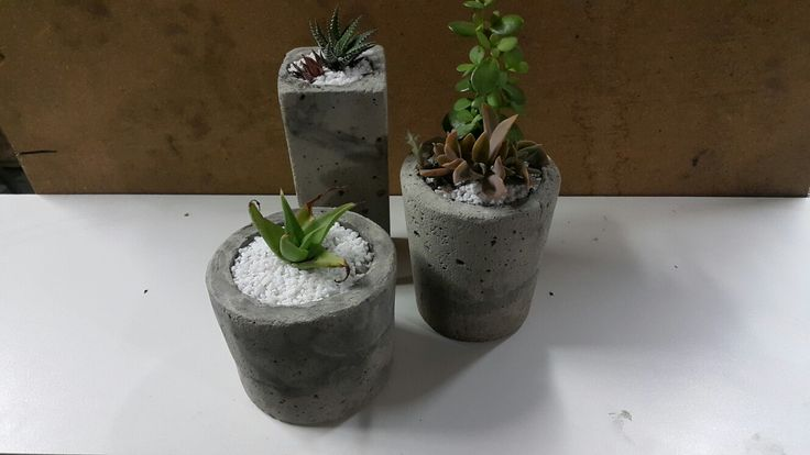 Recycle concrete moulds
